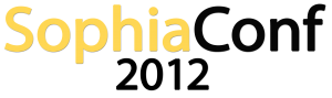 SophiaConf2012