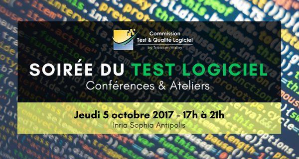 5 octobre – Soirée du Test Logiciel