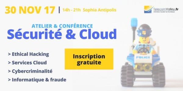 30 novembre – Atelier-Conférence Sécurité & Cloud