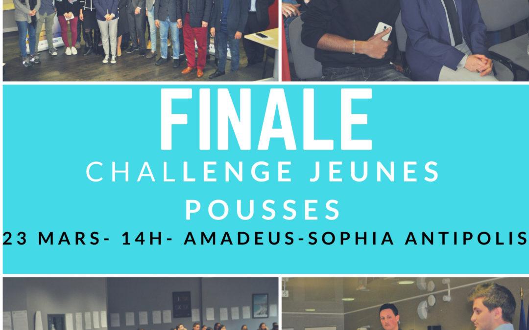 23 Mars 2018 – Finale Challenge Jeunes Pousses