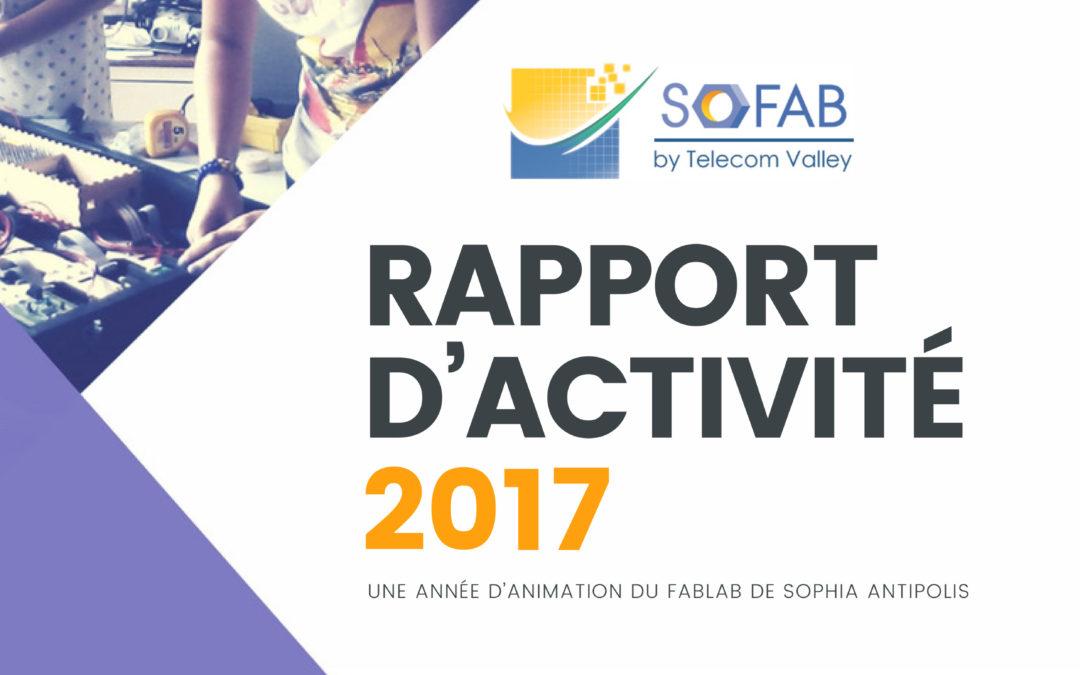 Rapport d'Activité SoFAB 2017