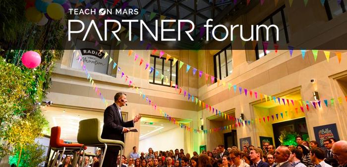 [Actu adhérent] LE PARTNER FORUM DE TEACH ON MARS, L'ÉVÈNEMENT MOBILE LEARNING DE L'ANNÉE, EST DE RETOUR !