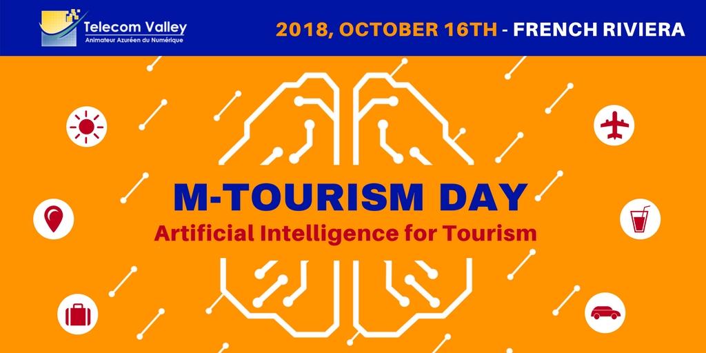 8ème m-Tourism Day, le 16 Octobre 2018 : « Artificial Intelligence for Tourism »
