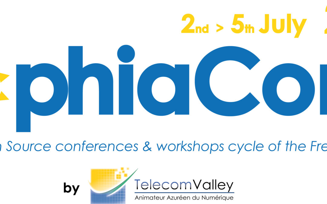 2-5 juillet 2018 – SophiaConf 2018