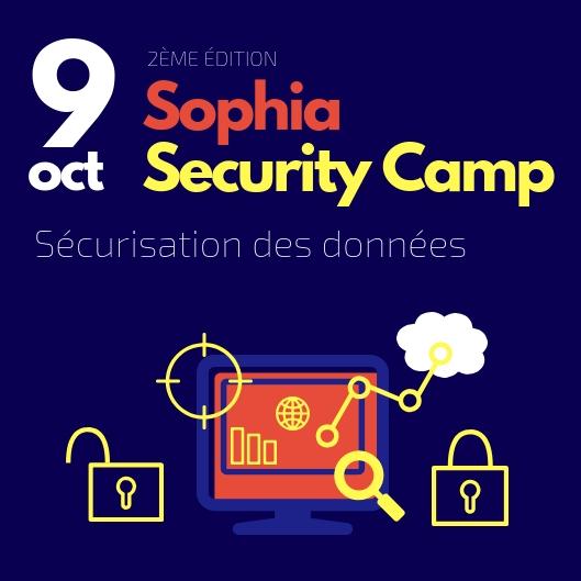 Sophia Security Camp 2018 : La sécurisation des données, un enjeu majeur pour les PME
