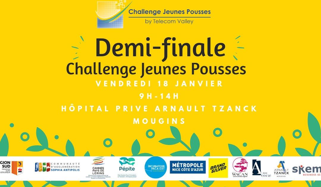18 Janvier 2019 : demi-finale du Challenge Jeunes Pousses