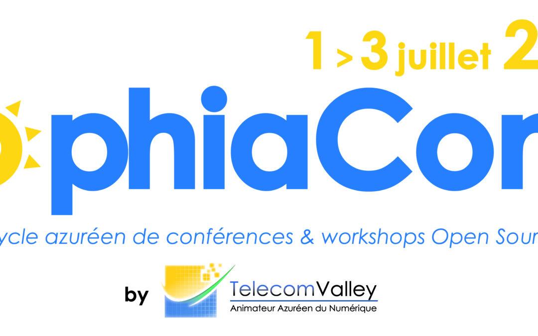 Appel à orateurs SophiaConf 2019