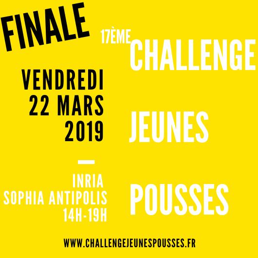 22 Mars 2019 – Finale Challenge Jeunes Pousses