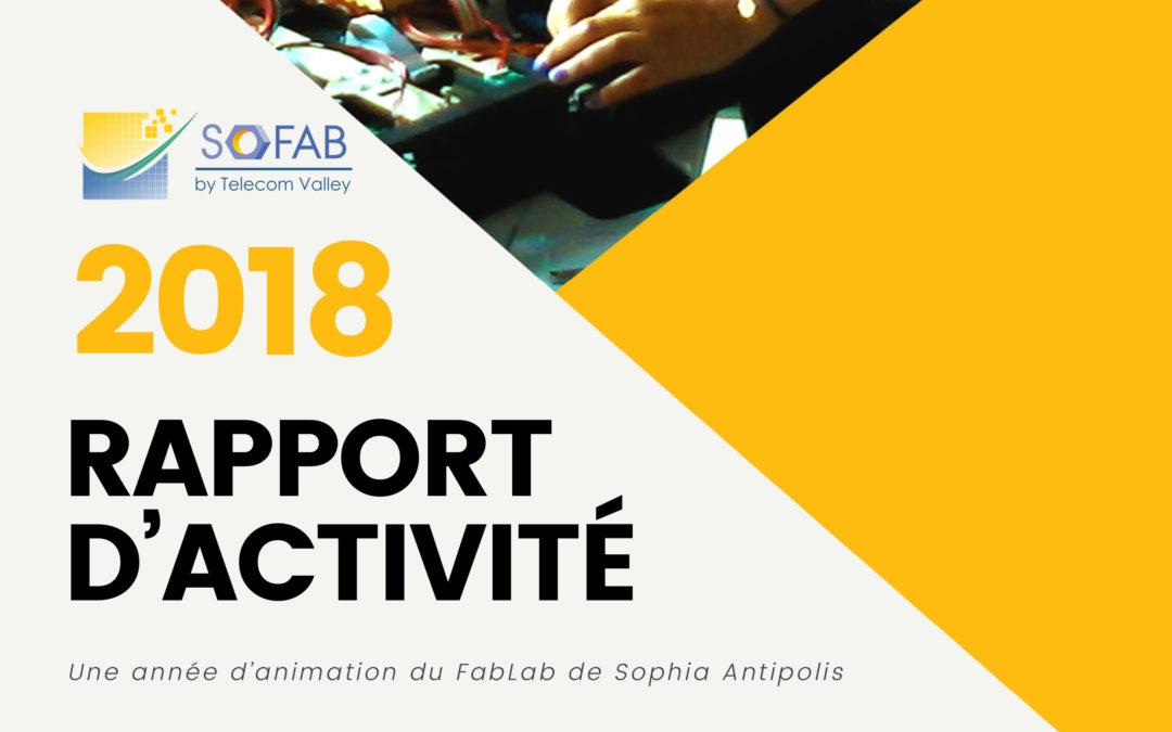 Rapport d'activité SoFAB 2018
