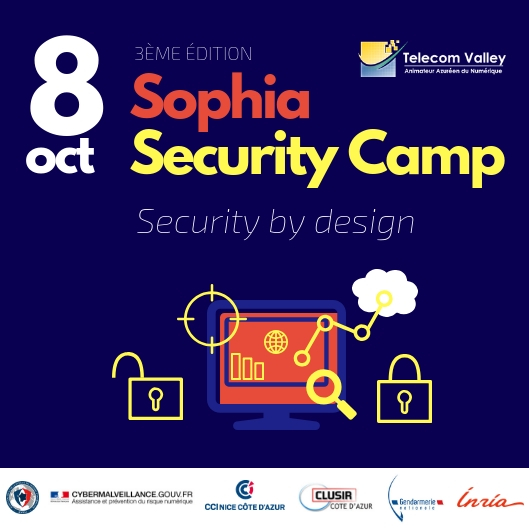 Sophia Security Camp 2019 : appel à sponsors