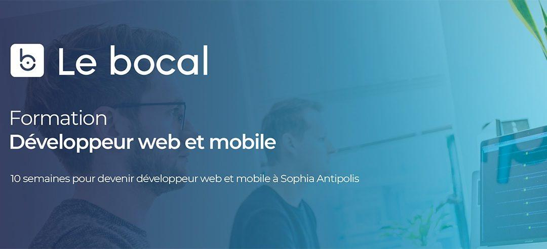 [Actu adhérent] Le Bocal Academy présente sa formation Développeur Web le 25 avril