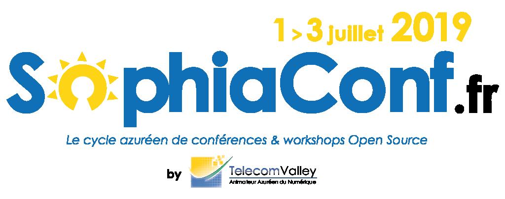 1-3 juillet – SophiaConf 2019