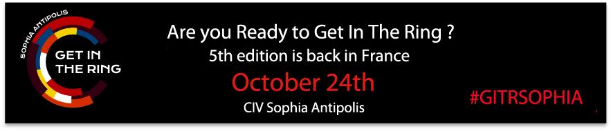Telecom Valley, partenaire de Get In The Ring Sophia Antipolis 2019