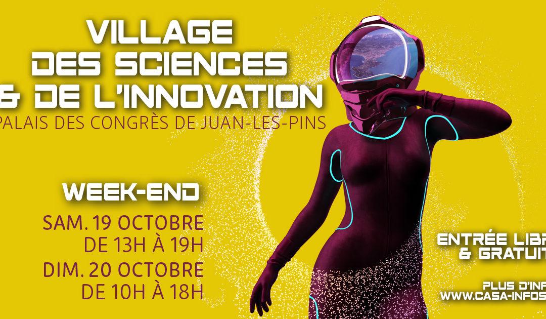 19-20 octobre 2019 – Programme des démonstrations SoFAB by Telecom Valley au Village des Sciences & de l'Innovation 2019