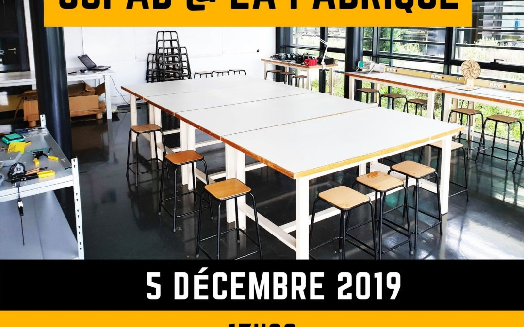 [Dossier de presse] Inauguration SoFAB @ La Fabrique