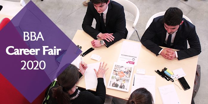 [Actua adhérent] Recruter un stagiaire à l'EDHEC : BBA Career Fair 2020