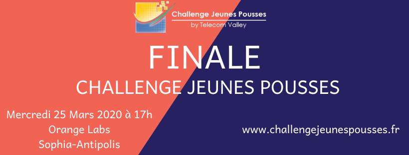 25 Mars 2020 : Finale du Challenge Jeunes Pousses