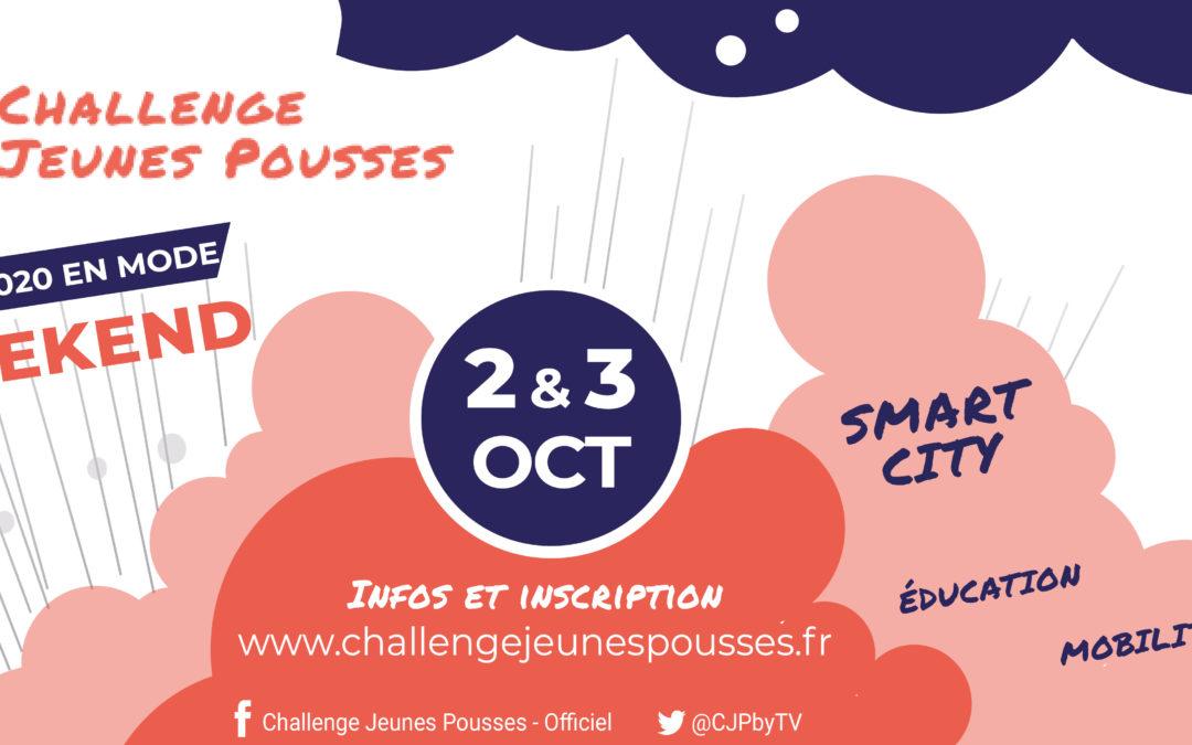 Lancement de la 19ème édition du Challenge Jeunes Pousses en mode startup week-end !