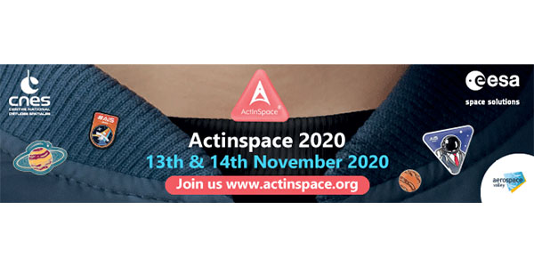 13 & 14 Novembre 2020 : Act In Space en format 100% numérique !