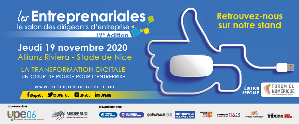 [Ecosystème] ENTREPRENARIALES 2020 – Lancement du Prix de la Jeune Entreprise