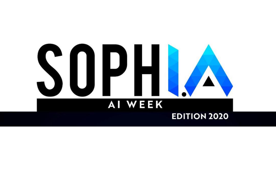 Lancement de la « AI WEEK 2020 » : une ouverture de qualité avec le World Usability Day & les Master Classes SophI.A
