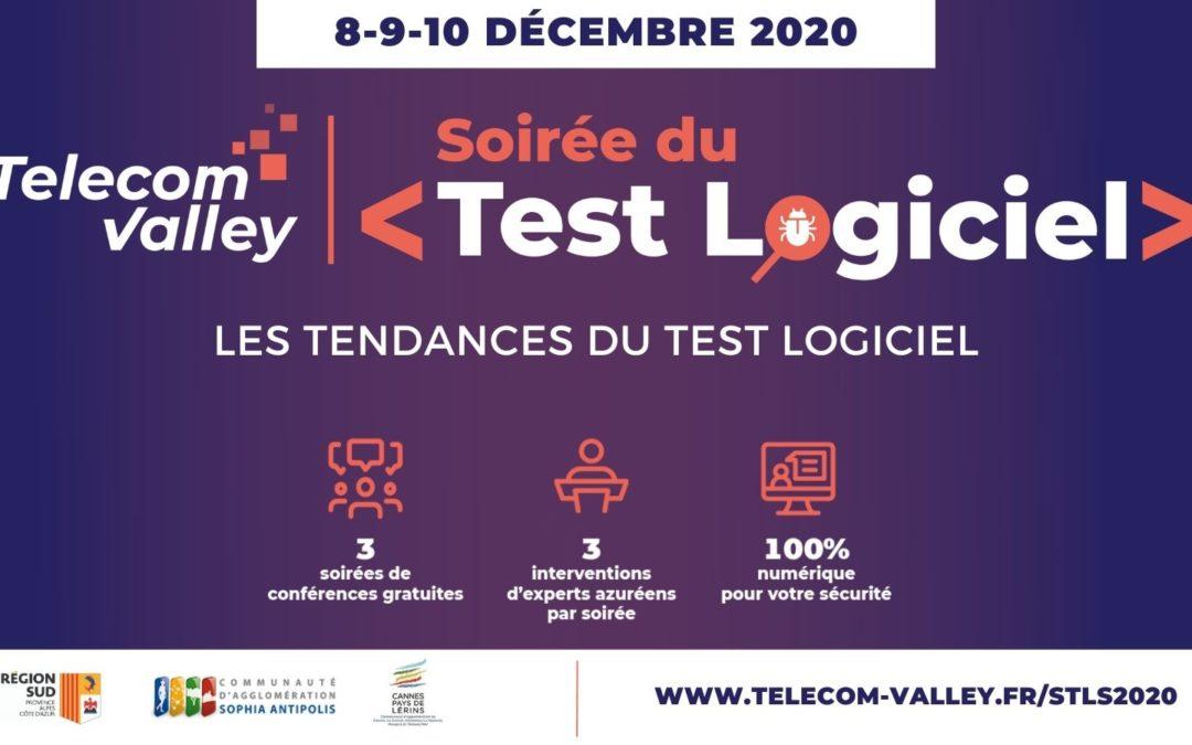 Les Tendances du Test Logiciel en 2020 au programme de la «Soirée du Test Logiciel», les 8-9 et 10 décembre