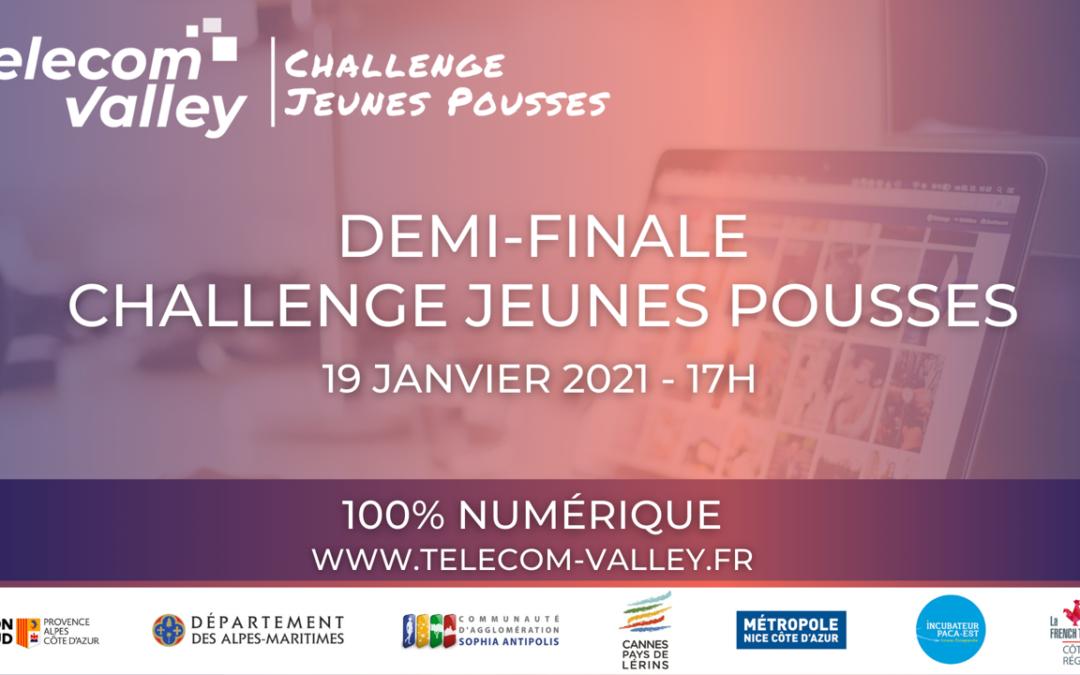 [COMMUNIQUÉ] Check, Flot'Home, Petit Chaud & Co et Veggie & Go, les 4 finalistes du Challenge Jeunes Pousses!