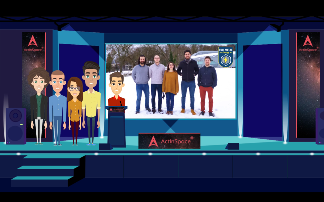 [COMMUNIQUÉ] Full Metal Energy remporte ActInSpace® 2020 !