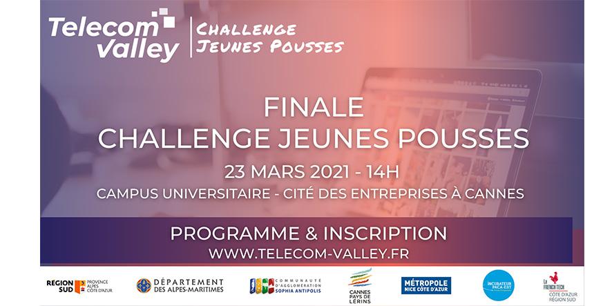 [COMMUNIQUÉ] Challenge Jeunes Pousses : ultime étape du concours avec la Finale le 23 mars 2021