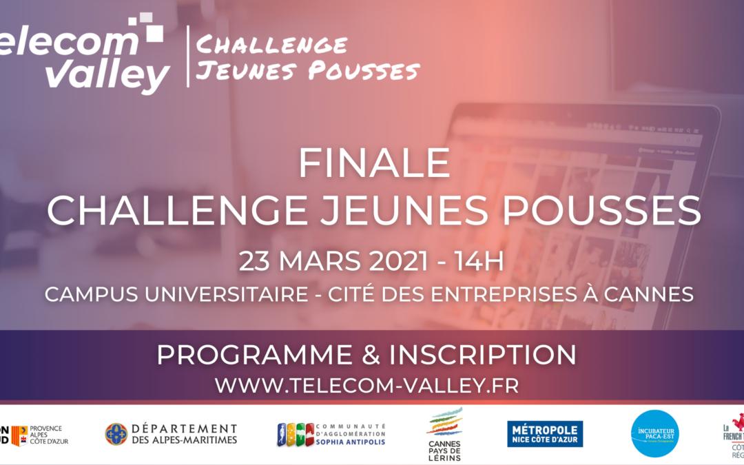[COMMUNIQUÉ] Une Finale 100% Numérique pour la 19ème édition du Challenge Jeunes Pousses 2020/2021