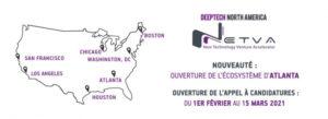 [ECOSYSTÈME] Appel à projets – Lancement de Deeptech North America – NETVA 2021