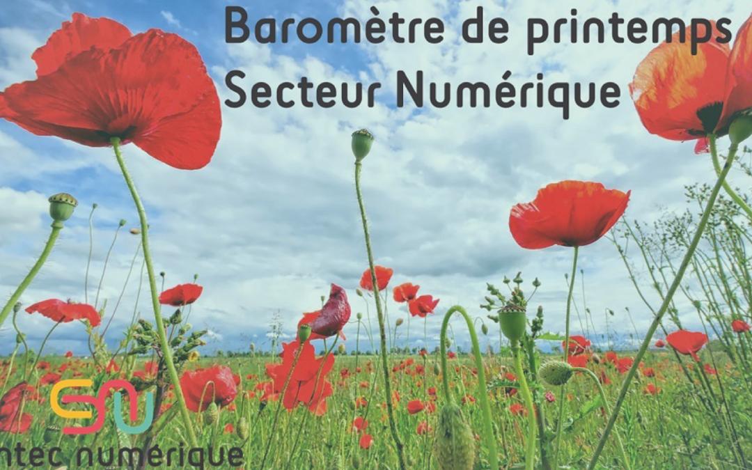 [écosystème] Baromètre de printemps par Syntec Numérique