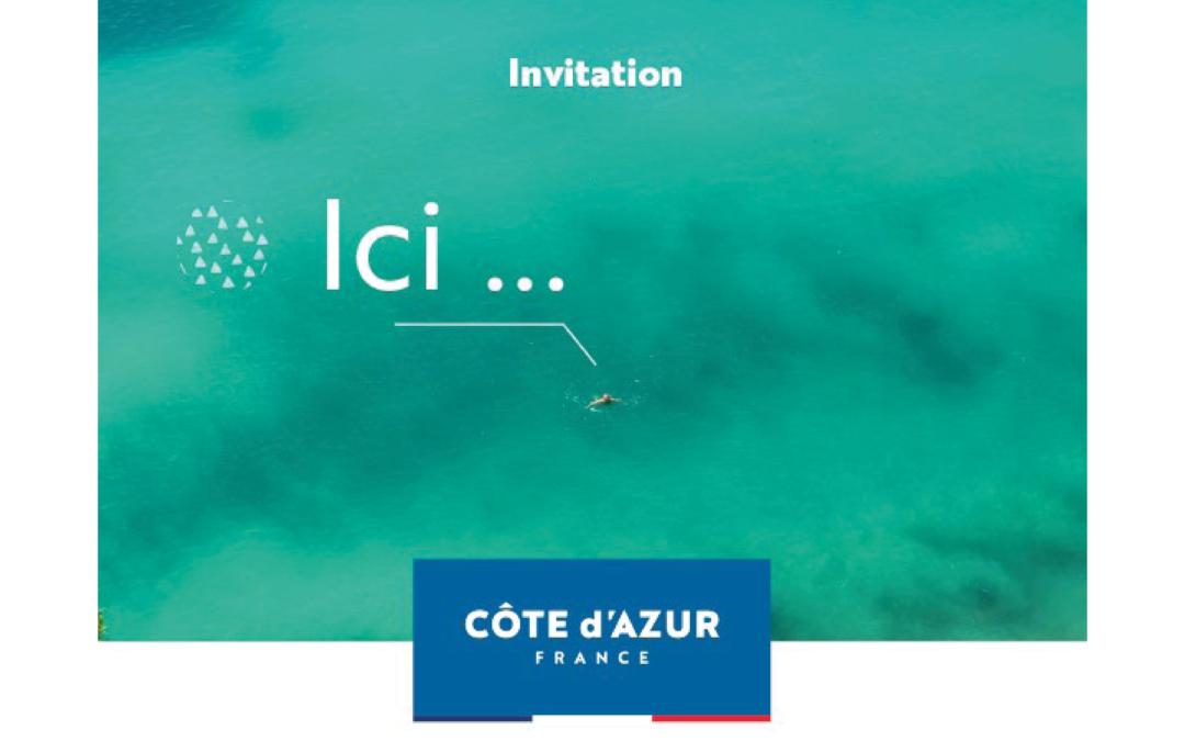 [ÉCOSYSTÈME] Présentation de la nouvelle campagne de promotion touristique Côte d'Azur France