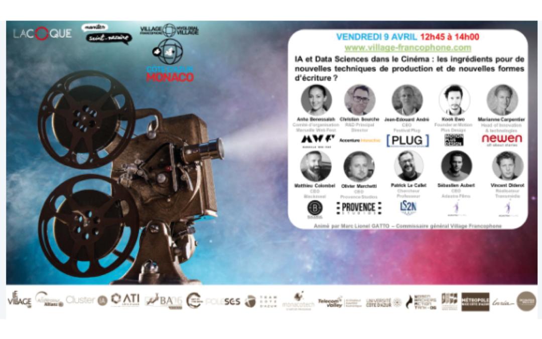 [ecosystème] Le panel « Cinéma et Entertainment de demain » revient le 9 avril prochain de 12h45 à 14h !
