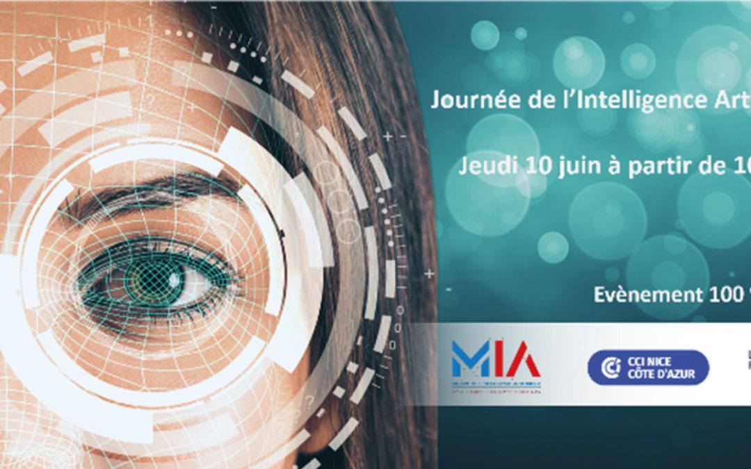 [Actu adhérent] Convention d'affaires Intelligence Artificielle CCI Nice Côte d'Azur  – 3 Juin 2021