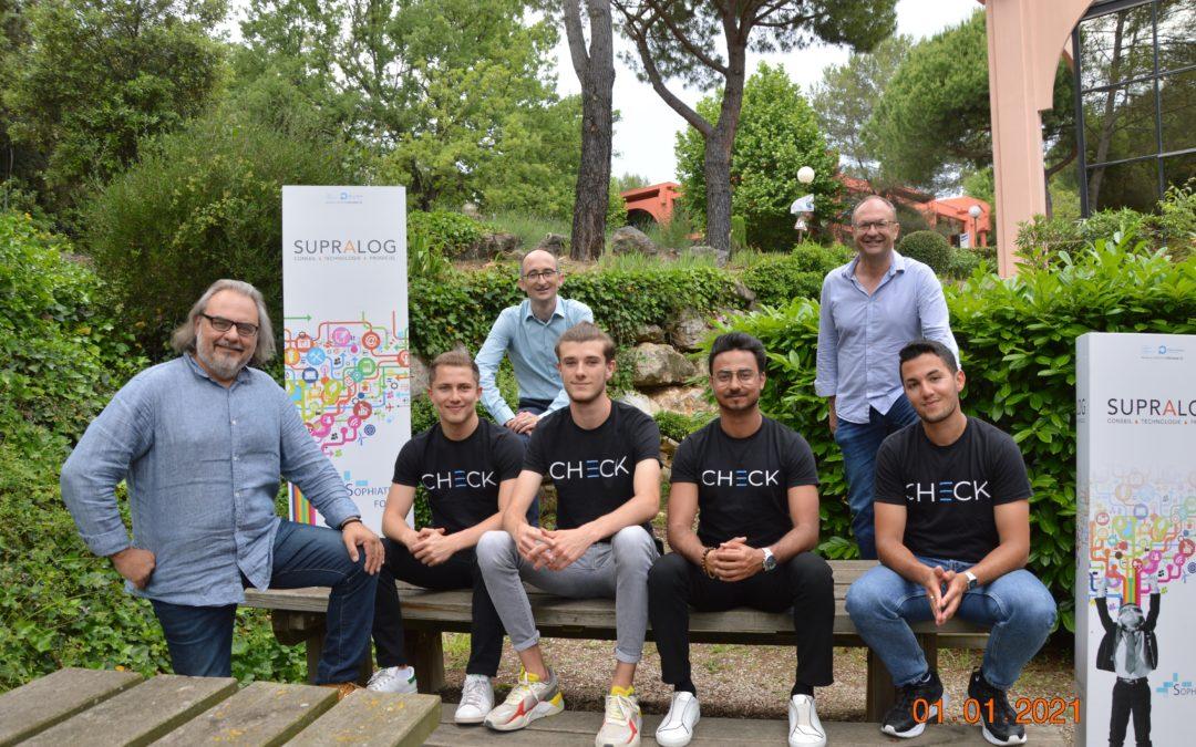 Comme Telecom Valley, soutenez le projet CHECK au concours Moovjee