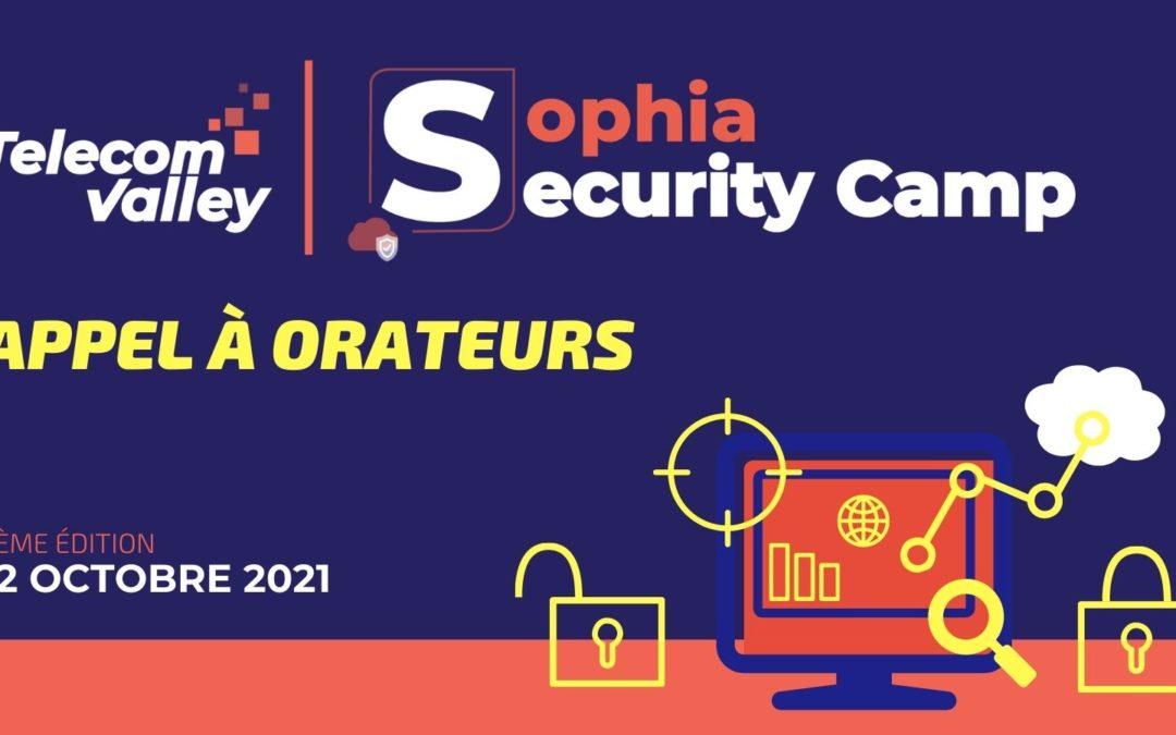 Sophia Security Camp 2021 :  Appel à orateurs