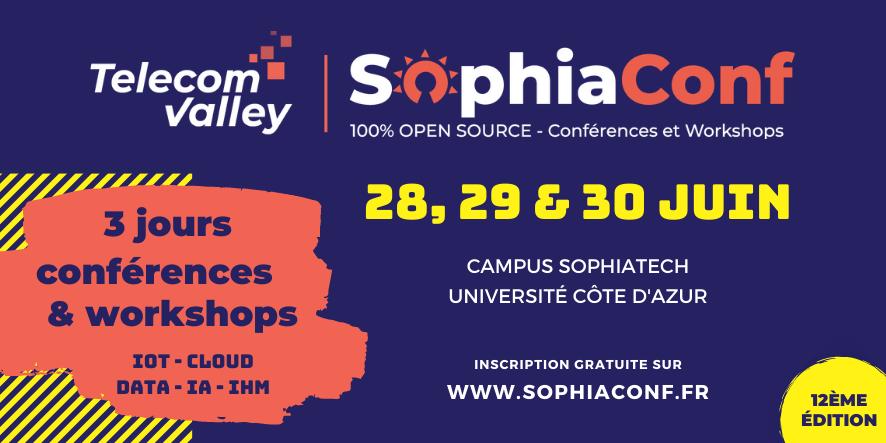 SophiaConf 2021 : un cru de haute qualité et une convivialité retrouvée