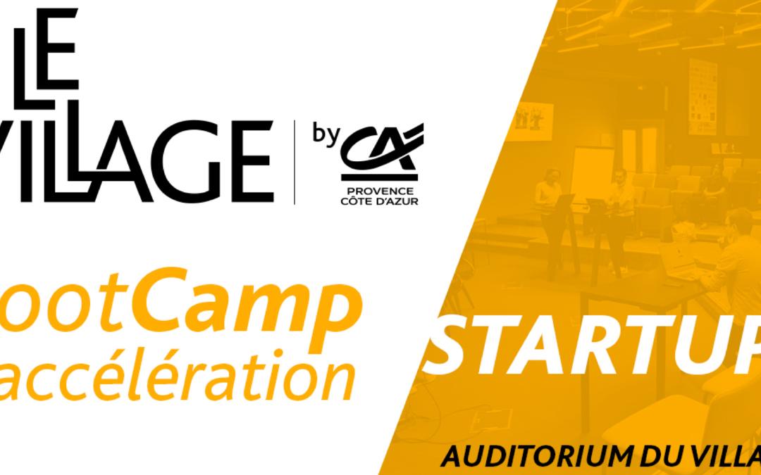 [ACTU ADHÉRENT] 02 juillet 2021 – BOOTCAMP d'accélération de start-up par LeVillagebyCA