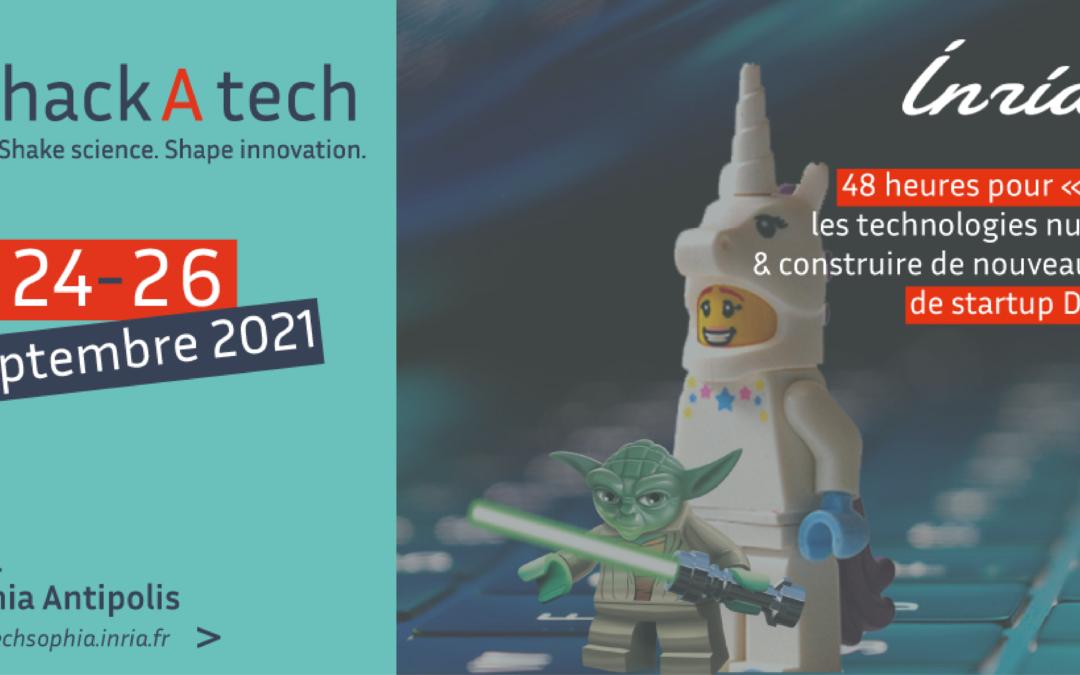 [actu adhérent] HackAtech Inria : 24 – 26 septembre 2021