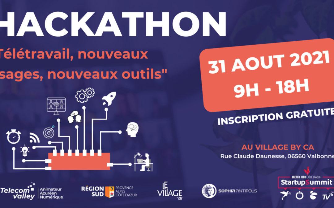 Un Hackathon pour répondre aux nouveaux besoins en matière de Télétravail, le 31 août à Sophia Antipolis