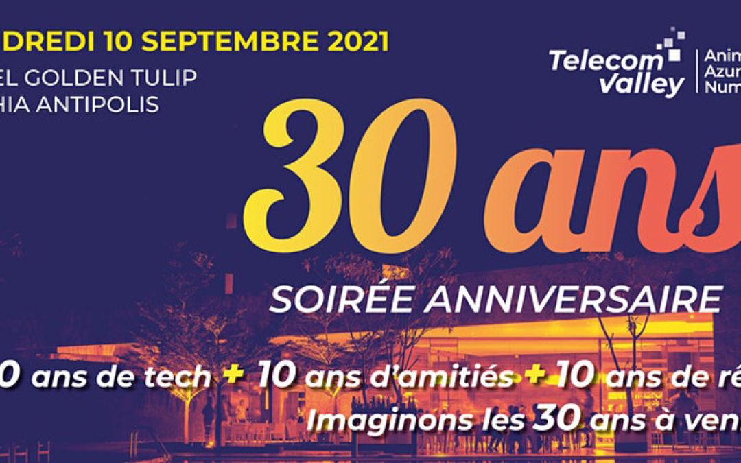 Telecom Valley a célébré ses 30 ans