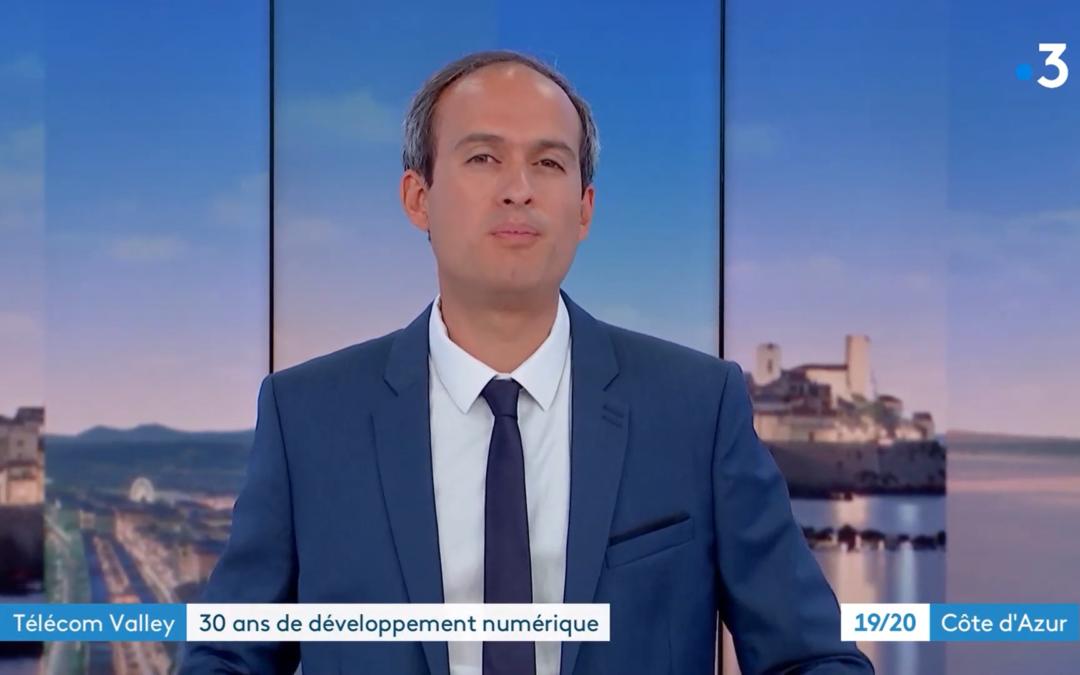 30 ans de Telecom Valley / Zoom sur SoFAB : Reportage France 3 Côte d'Azur