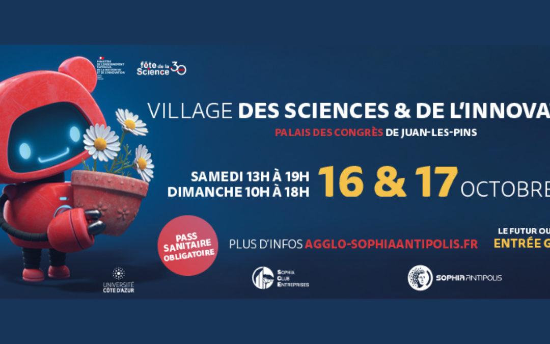 SoFAB en démonstration au village des sciences et de l'innovation d'antibes, les 16 et 17 octobre